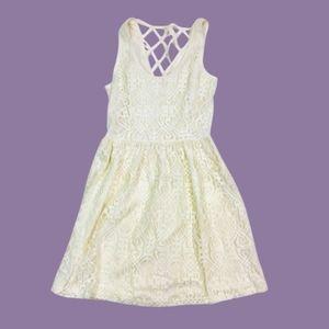 5/$25  Pinky Lace Dress